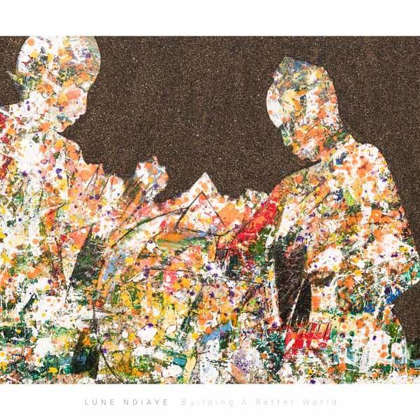 Building A Better World, 130 x 90 cm,Sand, Acryl auf Leinwand, Shop, 1200 Euro, ABC-2