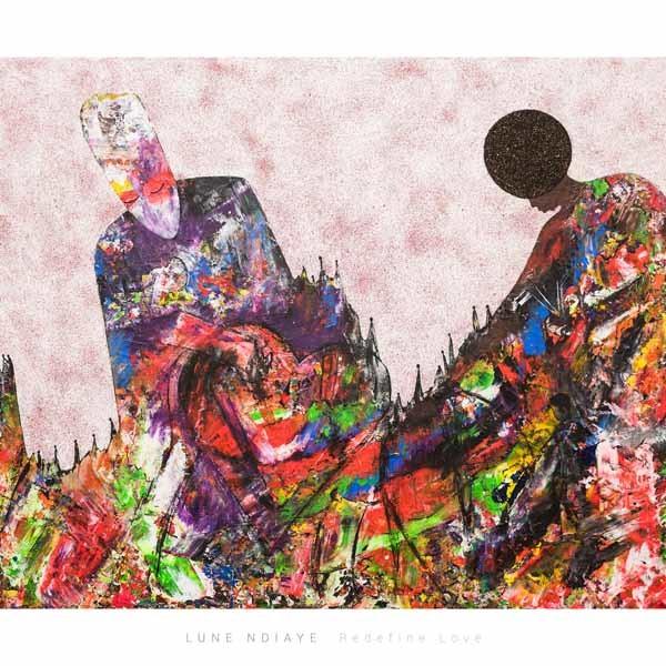 Redefine Love, 120 x 90 cmSand, Acryl auf Leinwand, Shop, 1200 Euro, ABC-2